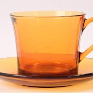 فنجان نعلبکی عسلی